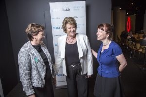 Professor Sally Redman, NSW Health Minister Jillian Skinner and Professor Emily Banks at the 45 and Up Study Collaborators' Meeting