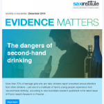 Cover image of the Evidence Matters newsletter.