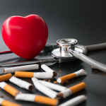 Smoking causes untold damage to the heart and major blood vessels and triples the risk of dying from cardiovascular disease.