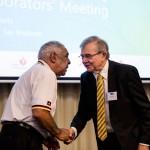 Sax Institute Deputy CEO thanks Gadigal Elder Uncle Allen Madden
