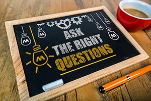ask the right questions on blackboard