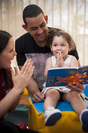 Child participant in study of urban Aboriginal child health