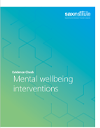 evidence check cover mental wellbeing interventions