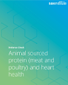 Evidence Check Cover for Animal sourced protein