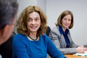 Knowledge brokers Fiona Blyth and Carmen Huckel Schneider