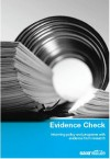 Download our Evidence Check brochure