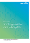 Implementing nicotine dependence and smoking cessation care in hospitals thumbnail
