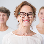 Image of women representing healthy ageing and cancer prevention