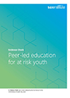 Peer-led education for at risk youth