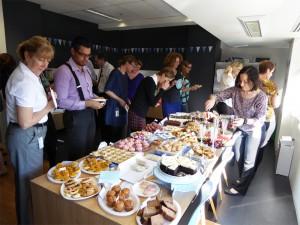 Sax Institute staff at Australia's Biggest Morning Tea